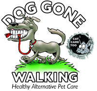 Dog Gone Walking & Cat Care, Kitchener-Waterloo, Ontario Logo